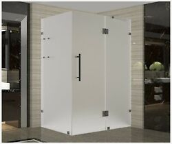 Aston Avalux Gs 40 X 34 X 72 Completely Frameless Hinged Shower Enclosure ...