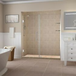 Aston Sdr960ez-ch-7335-10 Belmore Gs Frameless Hinged Alcove Shower Door With...