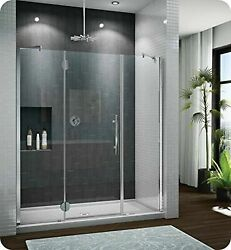 Pxtp68-25-40r-ma-79 Fleurco Platinum In Line Door And 2 Panels With Glass To ...