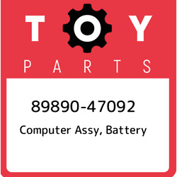 89890-47092 Toyota Computer Assy Battery 8989047092 New Genuine Oem Part