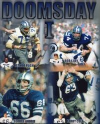 Dallas Cowboys Doomsday I And Ii 8 X 10 Photos - Set Of 2 W/8 Players Shown