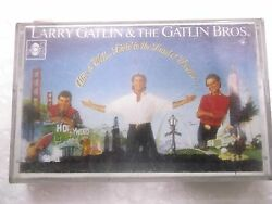 Larry Gatlin The Gatlin Bros Alive And Well Rare Orig Cassette Tape India Indian