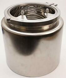 Insulated Condenser Tank   Tri Clamp 12 Inch X 12 W/ Coil And Lid -ss304 2 Pack