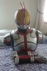 Kamen Rider 555 Cosplay Set Suit Costume from Japan