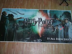 Harry Potter Deathly Hallows Part 2 2011 Orig Promo 6 Six Sheet Poster India