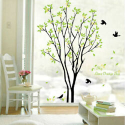 Flower Tree Wall Sticker Home Room DIY Art Decor Removable Decals Vinyl Mural