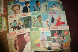 Family Weekly Lot Of 15 Vintage Issues 1958-1962 Sinatra/brando/pope ++