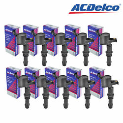Set Of 10 Acdelco Ignition Coil Bs-c1541 For Ford Mercury Lincoln Explorer 04-11