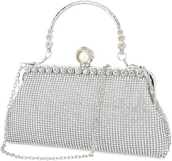 Mihawk Rhinestone clutch purses for women evening bags and clutches for women ev $42.95