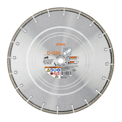 Stihl 14 Cut Off Saw Blade Pipe Ductile Iron Steel D-g80 0835 070 8000 Ts 420