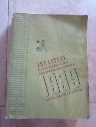 Antique Original1939 Sears, Roebuck Company Spring And Summer Catalog 1018 Pages
