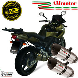 Exhaust Yamaha Tdm 900 2004 2005 Mivv Suono For Motorcycle Silencers Y014l7