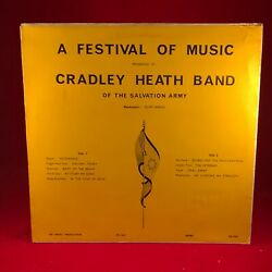 Cradley Heath Band Of The Salvation Army A Festival Of Music 1973 Uk Vinyl Lp
