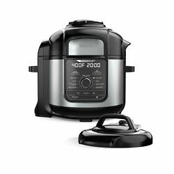 New Ninjafoodi 8-qt. 9-in-1 Deluxe Xl Pressure Cooker And Air Fryer +top Us Stock