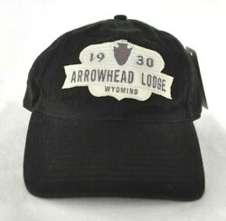 Arrowhead Lodge Wyoming Bighorn Mountains Ball Cap Hat Embroidered Ouray
