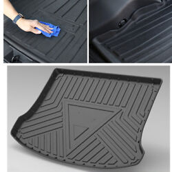 Car Rubber Cargo Floor Mat Trend Black Odorless Heavy Duty Trimmable Liner 13-19