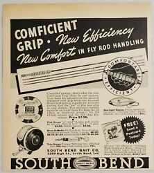 1941 Print Ad South Bend Fly Fishing Rods And Reels Sun Spot Lures South Bend,in