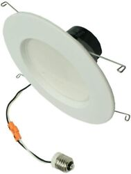 Tcp Led 6 Bulbs 16.5w Dr56 Dim 3000 16.5w 35,000 Recessed Housing Downlight Wh