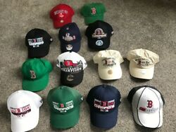 New Large Lot Of Mlb Red Sox Hats Caps You Choose World Series More Osfm