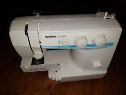 Vintage Brother Ls-1217 Free Arm Portable Sewing Machine Only Look Tested Good
