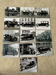 Lot Of 13 8x10 Photos 1920s/1930s Star/stearns-knight/stephens