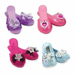 Melissa And Doug Role Play Collection - Step In Style Dress-up Shoes Set 4 Pairs