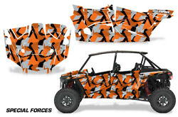 Utv Graphics Kit Decal For Polaris Rzr Turbo S 4-door 2019 Special Forces O S K