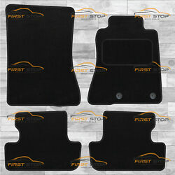 Ford Mustang 2015-on Fully Tailored Carpet Car Floor Mats Black 4pc