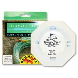 Royal Wulff Bermuda Triangle Taper Lost Tip Fly Line - New Free Shipping