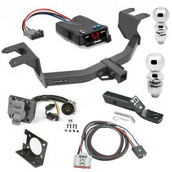 Trailer Hitch Brake Control For 19-20 Silverado Sierra 1500 New Body 7-way Balls