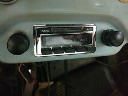 New 356 Porsche Am Fm Stereo Radio W/aux Input For Ipod Iphone Mp3 And Usb Stick