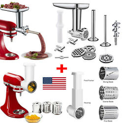 Meat Grinder Slicer Shredder Attachment For Kitchenaid Stand Mixer Accessory Us