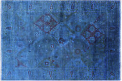6and039 2 X 8and039 10 Hand Knotted Full Pile Overdyed Area Rug - Pr8851