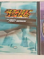 Transformers Beast Wars - The Complete First Season Dvd, 2003, 4-disc Set