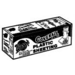 Poly-cover Plastic Sheets - 6mil 12x100 Clear Poly Cover