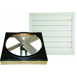 Cool Attic Cx24ddwt Direct Drive 2-speed Whole House Attic Fan With Shutter, 24