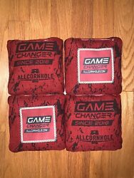 Brand New Game Changer Cornhole Bags Red