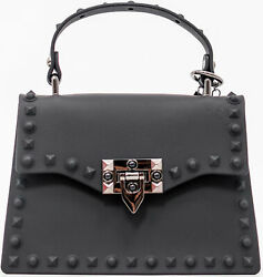 Mini Black Studded Purse for women Crossbody Bags Carteras de Mujer Trendy Bags $29.07