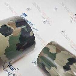 3m Vinyl Gloss / Matte Classic Army Life Camo Car Wrap 54in X 25ft