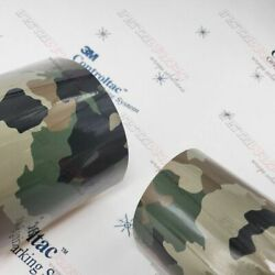 3m Vinyl Gloss / Matte Classic Army Life Camo Car Wrap 54in X 30ft