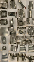 Huge Lot Of High End Stainless Steel Catering Platters And Serving Dishes