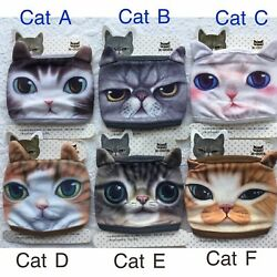 Cute Animal Dog Cat Lover Print Washable 3D Print Fabric Face mask USA FasT ship $8.00