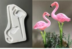 Flamingo Stakes Glass Casting Fusing Mold Creative Paradise Lf204 Supplies