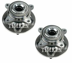 Timken Front Wheel Bearing Assembly Kit For Land Rover Lr4 Awd