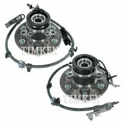 Front Left And Right Wheel Bearing And Hub Assy Kit Timken For Colorado Rwd Z85
