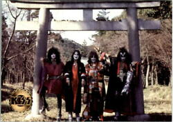 1997-98 Kiss Gold-seal Printing 47 In March 1978 Kiss Returned To Japan To Es