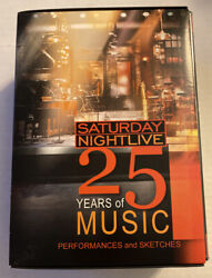 Saturday Night Live - 25 Years Of Music Dvd 2003 5-disc Set Brand New Sealed