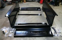 Complete Bed Kit Chevy 1945 Chevrolet Short Bed Stepside Truck W/bowtie Tailgate