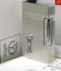 S.t. Dupont Line 2 Gas Lighter 2002 Fifa World Cup Hare Palladium Limited