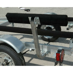Ce Smith 2ft Short Bunk Boat Trailer Carpeted Guide On Ons Pair 2x4x24 Pads